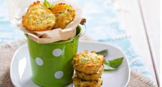 Muffins au saumon et ciboulette