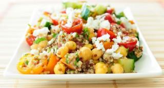 Salade de quinoa et pois chiches