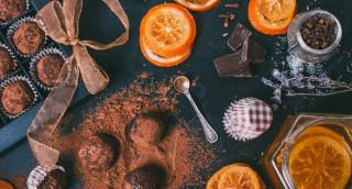 Truffes légères au chocolat
