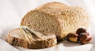 Pain à la farine de châtaigne sans gluten