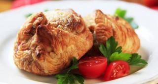 Feuilleté de lapin à la tomate et au basilic
