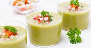 Soupe froide d'artichaut
