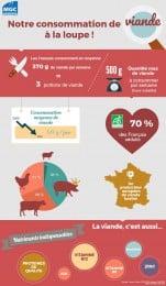 Infographie viande