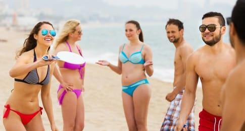 sports de plage