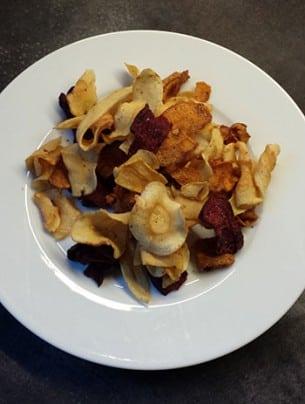 Les Chips de légumes Tyrrells
