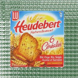 Biscottes céréales Heudebert