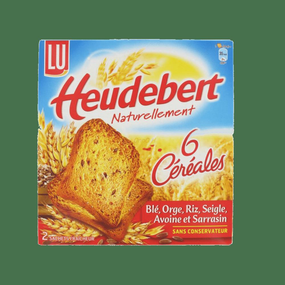 Biscottes Heudebert 6 céréales : notre test produit