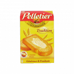 Biscottes La gourmande Pelletier