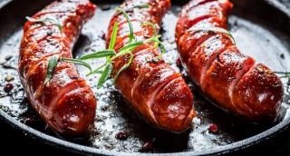 Saucisses de chevreuil et biche