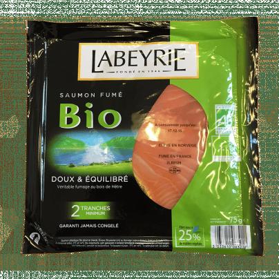 Saumon fumé bio Labeyrie