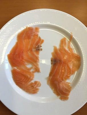 Le Saumon fumé de Norvège Monoprix