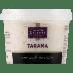Tarama oeufs de truite Monoprix Gourmet