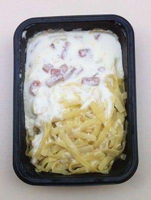 Le Gratin de macaroni au jambon Monoprix