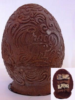 Œuf pâtissier aux trois chocolats Picard