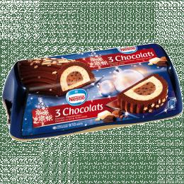 Bûche Nestlé 3 chocolats