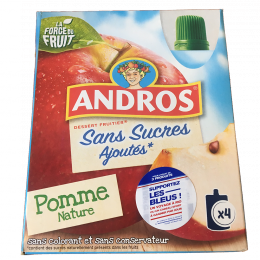 Compotes à boire Andros
